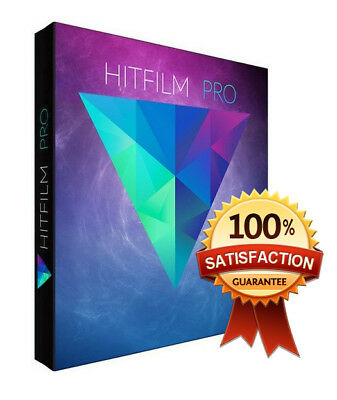 HitFilm 9.1 Pro 2018 Video Editing Software For Windows 64Bit Fast delivery