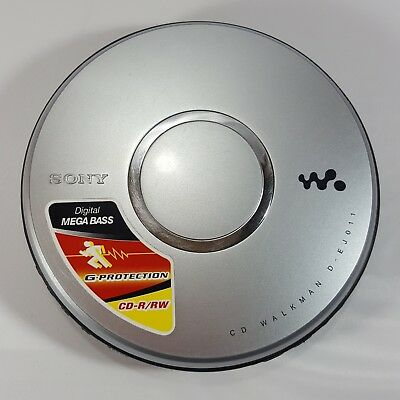 Sony Walkman D-EJ011 Portable CD Player R/RW  G-Protection Tested Working