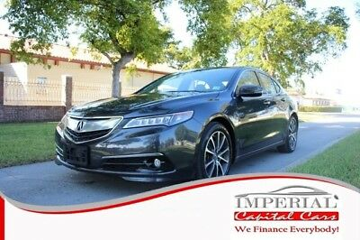2015 TLX 3.5 Sedan 4D Acura TLX GRAY with 51,101 Miles, for sale!