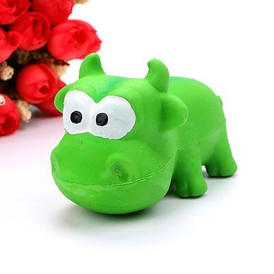 Pet Dog Toy Natural Latex Cute Animal Styling Sound Toy VV