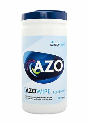 pack Of 200 Azowipe Equipment Ce 70% Ipa Disinfectant Wipes - 20 X 20cm