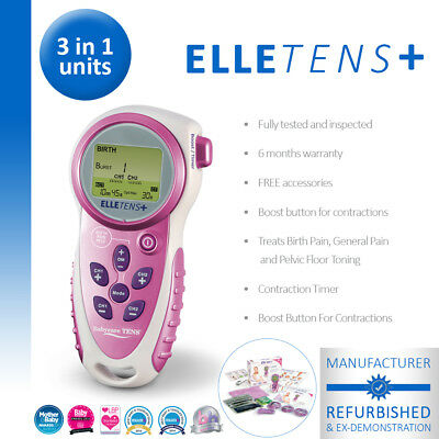 Elle TENS Plus Maternity TENS (contraction timer) *Manufacturer Refurbishished