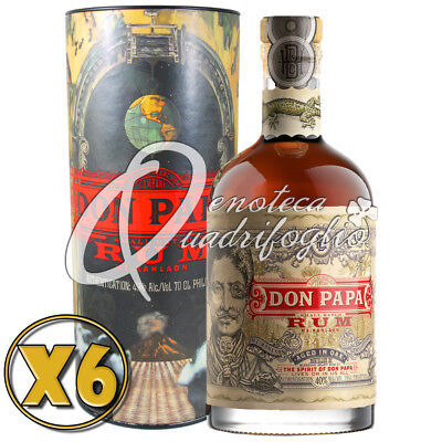 6 Don Papa Rum Aged In Oak Philippines 7 Anni Limited Edition Box Italy