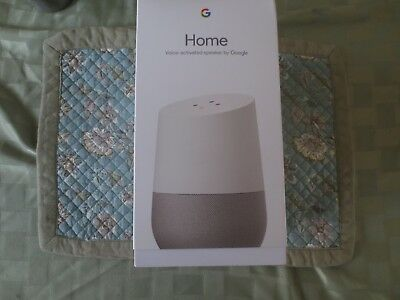Google Home - White Slate, Google Personal Assistant BRAND NEW