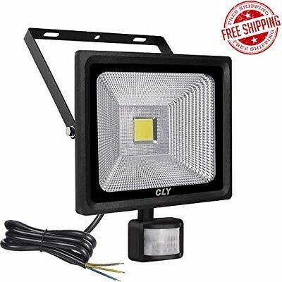 CLY 30W LED Motion Sensor Floodlight Outdoor Super Bright 2700 Lumens Security F