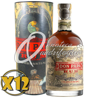 12 Don Papa Rum Aged In Oak Philippines 7 Anni Limited Edition Box Italy
