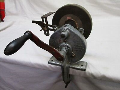 Miraculous Vintage Metabo Hand Cranked Grinder 3 Wheel 18 00 Theyellowbook Wood Chair Design Ideas Theyellowbookinfo