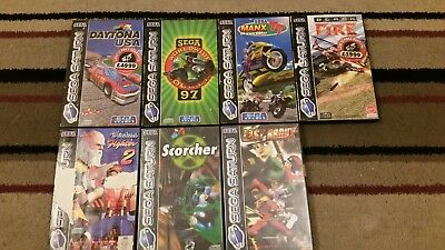 BUNDLE OF VINTAGE Sega Saturn Games Retro