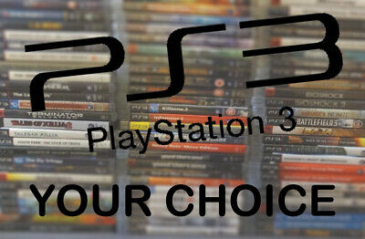 Playstation 3 Spiele PS3 Games - YOUR CHOICE - Platinum Essentials Special USK18