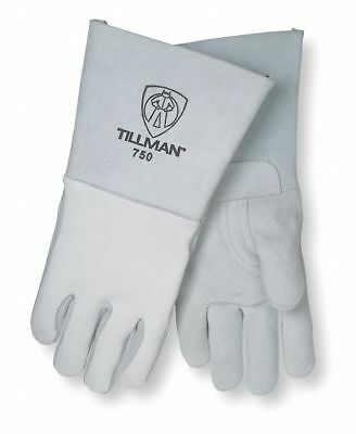 "Tillman Welding Gloves, Stick, 16-1/2"", XL, PR Pearl 750XL"