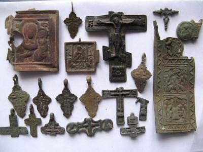 Metal detector finds.Mix lot  ancient finds (The age of 14-19) N38