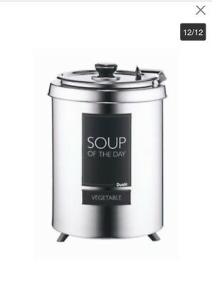Dualit Soup Kettle With Instructions. 6 Litre.Brand New. Soup/mulled Wine/chilli
