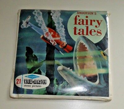 * Sealed * Hans Christian Andersen's Fairy Tales Viewmaster Reels B305 Rare B451