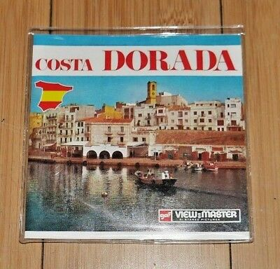 * Mint & Sealed * Costa Dorada Spain Viewmaster Reels Set C256 Rare  B161