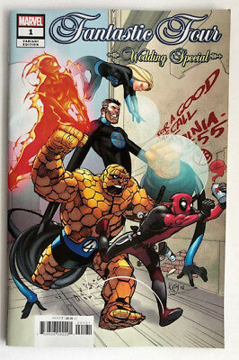 Fantastic Four Wedding Special #1 Variant Near Mint-Unread (2018)