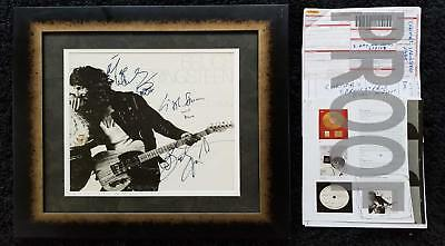 Real Signed Bruce Springsteen Born To Run Christies Auction Authentic w/Receipts