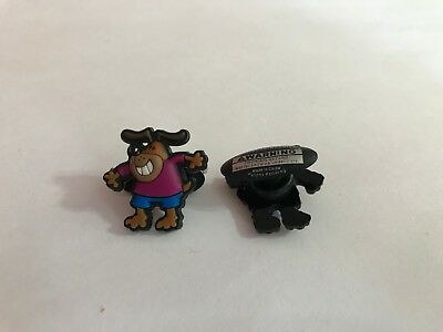 Smiling Dog Purple Shirt Shoe-Doodle For Rubber Shoes Crocs Shoe Charm PSC1020