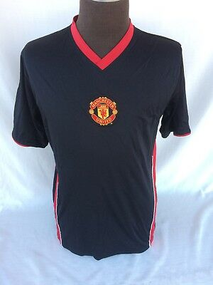 Manchester United Football Club Men's Jersey Shirt Size M Black No Sponsors!