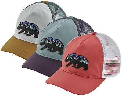 Women s PATAGONIA Fitz Roy Bear Layback Trucker Hat  38209 5-Panel Snapback  Cap b6bc8cbc07ae