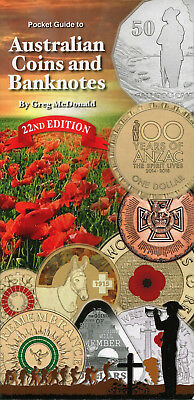 2015 (22nd Edition) Pocket Guide to Australian Coins & Banknotes - Greg McDonald