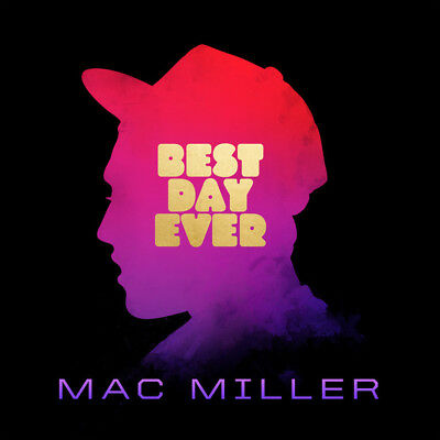 Mac Miller ‎- Best Day Ever 2 x Vinyl LP ETCHED ALBUM - Wiz Khalifa - SEALED NEW