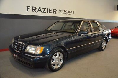 1997 Mercedes-Benz S320  Largely ONE OWNER LITTLE OLE LADY MERCEDES with FRANCHISE SERVICES SINCE NEW
