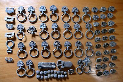 Ancient belt set Bronze belt set 100% original Metal detector finds 73 subjects