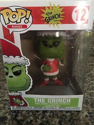 Funko Pop! Books #12 The Grinch Books A Million Exclusive