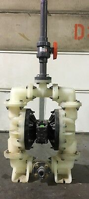 """Sandpiper Diaphragm Pump S15B3P1PPAS000 1 1/2"""" Poly.  Selling For $950"""