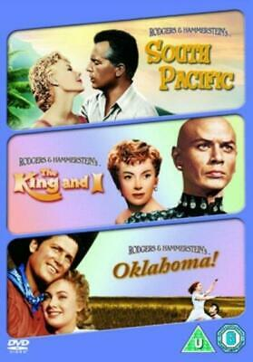 South Pacific / The King and I / Oklahoma! (DVD BOX SET) *NEW/SEALED* FREE P&P