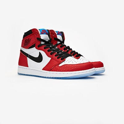 online store 34688 3c038 Nike Air Jordan 1 Retro High OG. Spider man Origin Story. UK11   US12