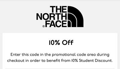 The North Face 10% Discount Code Xmas Christmas Gift Outdoor Activewear Winter