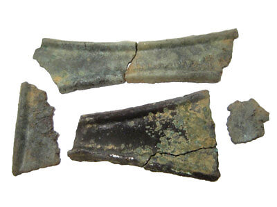 Extremely Rare Bronze Age Proto Money Ingot Pieces, Part Of A Hoard+++