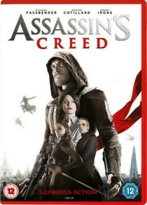 Assassin's Creed (DVD, 2016) *NEW/SEALED* 5039036079488, FREE P&P