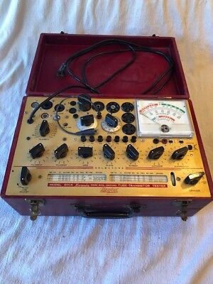 Antique Hickok Tube Transistor Tester Model 800A GREAT condition