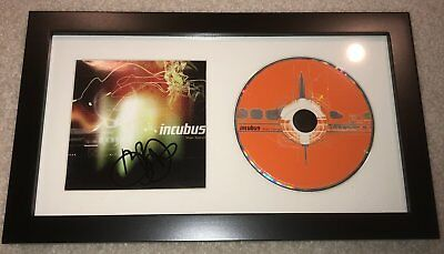 BRANDON BOYD SIGNED AUTOGRAPH INCUBUS MAKE YOURSELF FRAMED CD w/PROOF