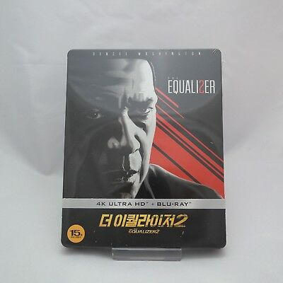 The Equalizer 2 - Blu-ray Steelbook (2019) / 4K UHD + 2D