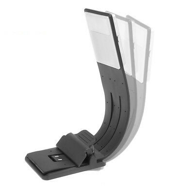 Convenient LED Reading Book Light Detachable Flexible Magnetic Clip USB Lamp