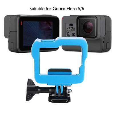 Aluminum Housing Shell Cage Mount Case Frame for Gopro Hero 5/6 Action Camera SG