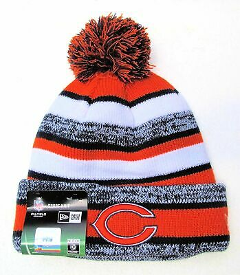 57464d01e CHICAGO BEARS CUFFED Beanie Knit Winter Cap Hat NFL Authentic ...