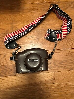 CANON P RANGEFINDER - EARLY 1960s - EXCELLENT! with case