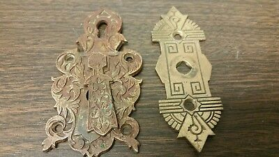 2 Early Brass Door Hardware..beautiful.
