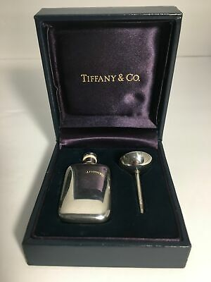 Vintage Sterling Silver Tiffany & Co. Perfume Decanter with Funnel
