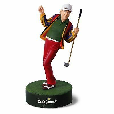 "uHALLMARK KEEPSAKE ORNAMENT 2018 ""LET'S DANCE!"" CADDYSHACK NIB FREE SHIPPING"