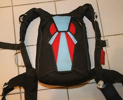 Javelin J1 skydiving parachute container - fits up to 150 mains