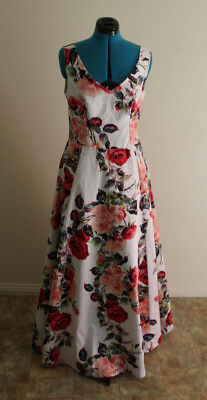 Floral Wedding Dress Ball Gown Formal Dress Size 12