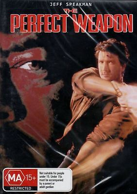 The Perfect Weapon DVD NTSC Region Free New Sealed