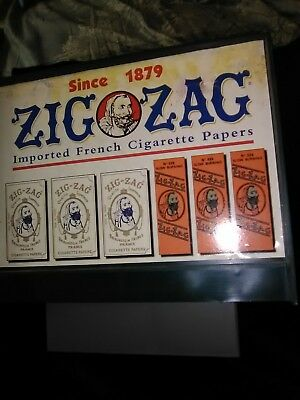 ZIG ZAG Rolling Papers MACHINE gas station Window  DISPLAY Tobacco High Times