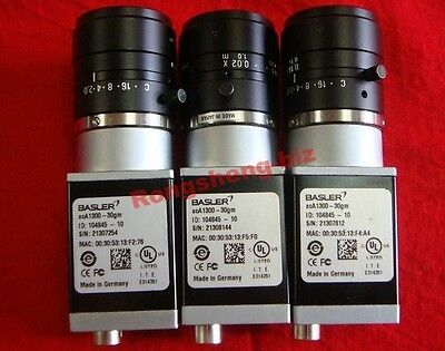 1PC USED Basler acA1300-30gm Good Condiction #RS8