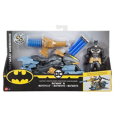 Batman Missions Air Power Blast Attack / Bat Ciclo Figura